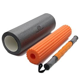 China Nontoxic Material Massage Foam Roller Set With Foam Roller Massage Sticker​ supplier