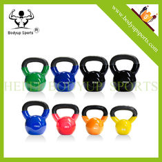 China Non Sliping Handle Kettlebell Gym Equipment With Beautiful Appearance supplier