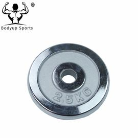 China Adjustable Chrome Weight Plates , Fitness Gear Weight Plates For Dumbbell supplier
