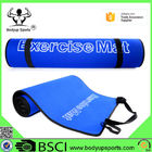 China Durable Yoga Exercise Mat With Carrying Strap Eco Friendly EVA Material factory
