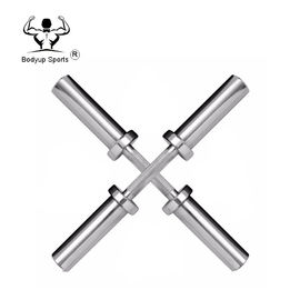 500mm Fitness Weight Bar , Weight Lifting Equipment Pure Steel Material