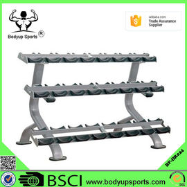 Steel Safe Gym Dumbbell Rack A Shape For Heavy Duty Commercial Usage