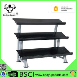 Stable Dumbbell Storage Rack , 3 Tier Dumbbell Rack For Home And Gym