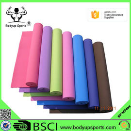 Eco Friendly Non Slip EVA Foam Yoga Exercise Mat With Customized Label
