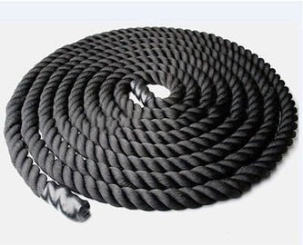38mm Diameter Crossfit Essential Equipment Battle Rope Polyester Material